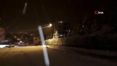 Adana'nın kuzey ilçeleri dondu