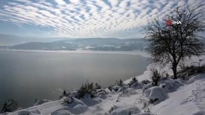 Bolu'da kar yağışı barajları doldurmaya başladı