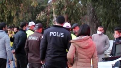 """Kaza yerinden kaçan alkollü ve ehliyetsiz sürücü polise yakalanınca """"Ne kazası Mehmet abi"""""""