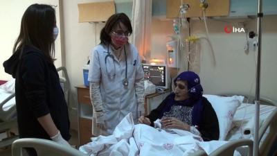 - Şırnak'ta 90 yaş ve üzeri vatandaşlar için evde aşı yapılmasına başlandı