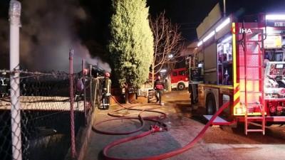 televizyon -  Sobadan çıkan yangın evi küle çevirdi