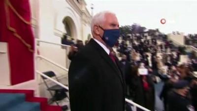 yemin toreni -  - Trump'ın yardımcısı Pence, Biden'ın yemin törenine katıldı