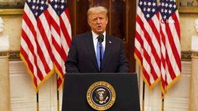 - Trump veda konuşmasında geri dönebileceğini sinyallerini verdi