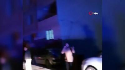 Uzman çavuş ile oğlunun öldüğü yangın kameraya yansıdı