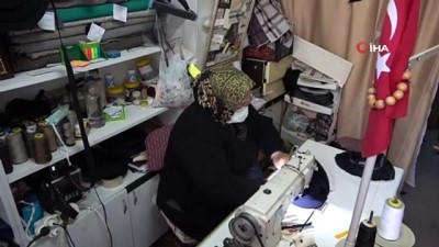 8 köşeli kasketin 40 yıllık kadın ustası