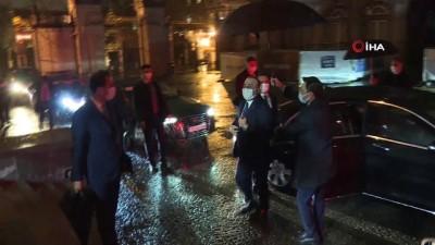 basin toplantisi -  - Bakan Çavuşoğlu, Belçika Dışişleri Bakanı Wilmes ile bir araya geldi