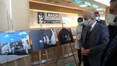 objektif -  Sağlık çalışanlarının korona virüs mücadelesi fotoğraflara yansıdı