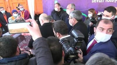 Bakanlar, 'ölüm yolu' olarak adlandırılan Gaziantep-Nizip-Birecik yolunu inceledi