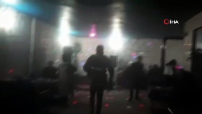 İçkili eğlenceye jandarma baskını: 21 kişiye 93 bin 700 TL ceza kesildi