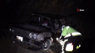 Konya'da tır otomobile çarptı: 2 yaralı