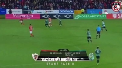 Osama Rashid Gaziantep FK'da