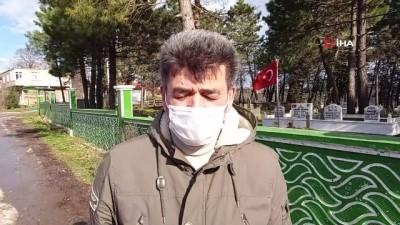 Sakarya Büyükşehir Belediyesi'nin yapacağı işi mahalleli yaptı