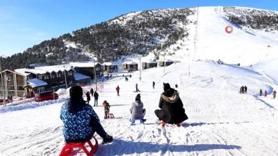 Zigana kayak merkezinde tatil bereketi