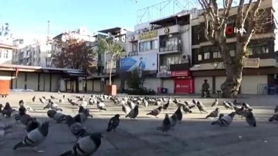 Gaziantep'in yoğun noktalarında kısıtlama sessizliği