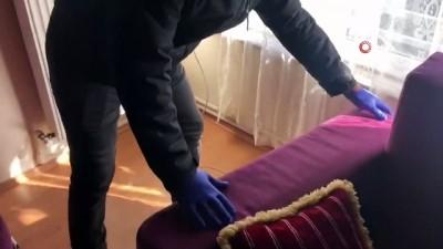 Kalorifer peteğinden uyuşturucu çıktı
