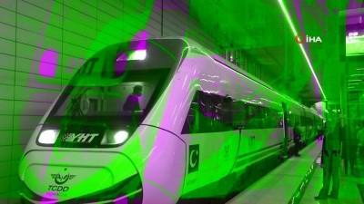 yuksek hizli tren -  Ankara-Sivas Yüksek Hızlı Tren Hattı Projesi'nde performans testleri başladı