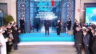 Cumhurbaşkanı Erdoğan, İpekyolu Uluslararası Çocuk ve Gençlik Çalışmaları Merkezi'ni açtı