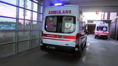 İki otomobil çapıştı: 9 yaralı