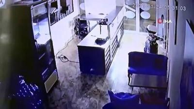 Kısıtlamada 8 işyerini soyan hırsız yakalandı