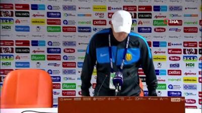 """Necati Erkmen: """"Bu maçı kazanmak hakkımızdı, kaybettik"""""""