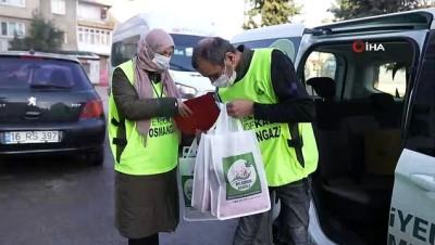 koah -  Osmangazi'den yürekleri ısıtan yardım