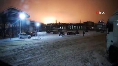 petrol rafinerisi -  - Rusya'da petrol rafinerisinde patlama: 2 ölü