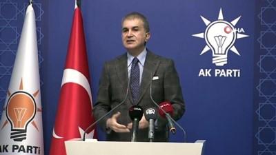 AK Parti Sözcüsü Ömer Çelik, MYK toplantısı sonrası açıklamalarda bulundu