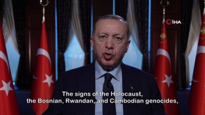 Cumhurbaşkanı Erdoğan'dan dünyaya yabancı karşıtlığı ve nefret söylemi ile mücadele çağrısı