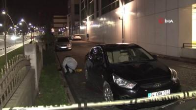 Hastane bahçesinde amca ve yeğenine silahlı saldırı