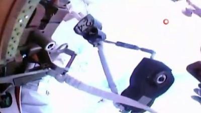 uzay istasyonu -  - NASA, 2021 yılının ilk uzay yürüyüşünü gerçekleştirdi