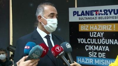 Sultangazi'ye dev planetaryum