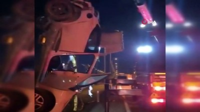 koprulu -  Takla atarak hurdaya dönen otomobilin sürücüsü hayatını kaybetti