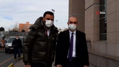 Ünlü türkücü Alişan İstanbul Adliyesi'nde ifade verdi