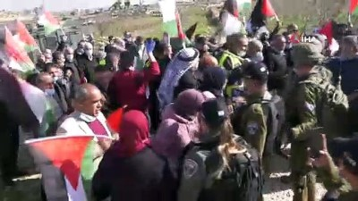 - İsrail güçleri, zeytin fidanı ekmek isteyen Filistinlileri engelledi