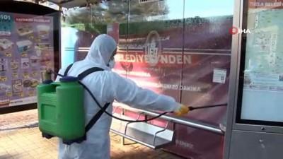 Tuzla'da 2020 yılında 945 kez İhtiyaç sahibi vatandaşın evi temizlenerek dezenfekte edildi