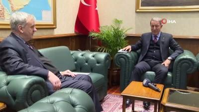 """Bakan Akar'dan Yunanistan'a """"görüşme"""" daveti"""