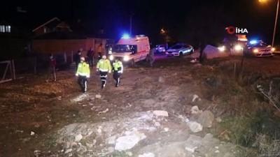 Bolu'da kontrolden çıkan otomobil ağaca çarptı: 1 yaralı