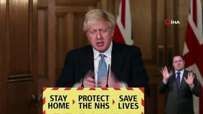 """basin aciklamasi -  - Johnson: """"İngiltere nüfusunun yüzde 2'sinden fazlasının enfekte oldu"""""""