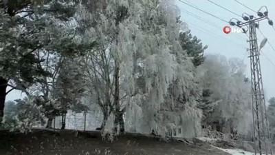 - Kars'ta, soğuktan sis ve kırağı oluştu