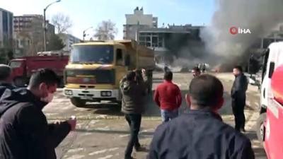 Adıyaman'da tank patlaması: 'Patlama temizlik esnasında oldu'