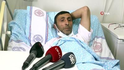 ambulans ucak -  Tır şoförü olan şehit babası özel uçakla Kazakistan'dan Erzurum'a getirildi