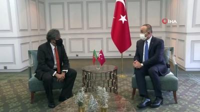 yeni yil -  - Dışişleri Bakanı Çavuşoğlu, Portekiz'de - Çavuşoğlu, Portekiz-Türkiye Parlamentolar arası Dostluk Grubu Başkanı Oliveira'yı kabul etti