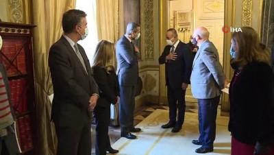 yeni yil -  - Dışişleri Bakanı Çavuşoğlu, Portekiz Dışişleri Bakanı Silva ile bir araya geldi