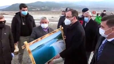 """Gençlik ve Spor Bakanı Kasapoğlu:  """"Salda Gölü bizim için önemli bir hazine"""""""