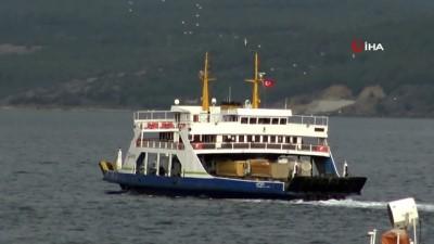 Gökçeada'ya planlanan tüm feribot seferleri iptal