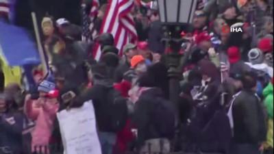 - Washington DC'de hareketli gece - Trump destekçileri Kongre Binası'nın bastı