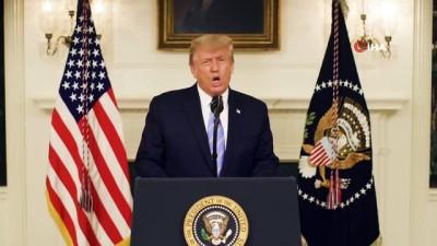 secim sistemi -  ABD Başkanı Trump'tan protestoculara sert tepki