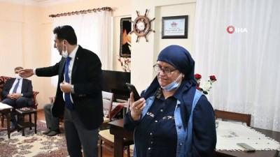 İçişleri Bakanı Soylu'dan şehit öğretmen Şenay Aybüke Yalçın'ın ailesine sürpriz telefon