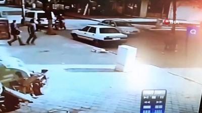 Otomobilin önüne fırlayan çocuk metrelerce böyle sürüklendi