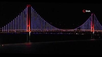 ilginc goruntu -  Osmangazi Köprüsü'nde ilginç görüntü